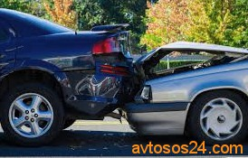 what happens in a rear end collision