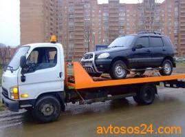 Эвакуация и перевозка джипов