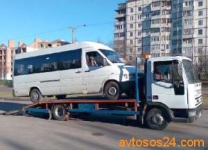 Эвакуация микроавтобусов Харьков