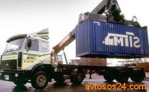 Перевозка контейнеров к месту назначения
