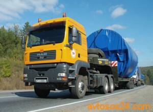Транспортировка негабаритных грузов Украина