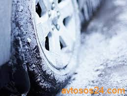 Езда на авто в гололед и снегопад