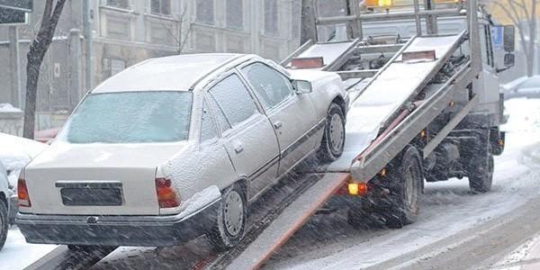 Безопасные способы перевозки автомобиля зимой