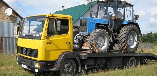 Востребованность услуг по эвакуации сельхозтехники