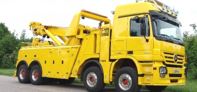 Особенности эвакуации грузовой техники
