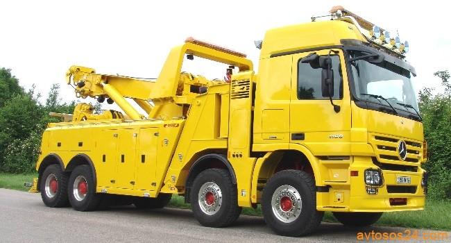 Пример грузового эвакуатора